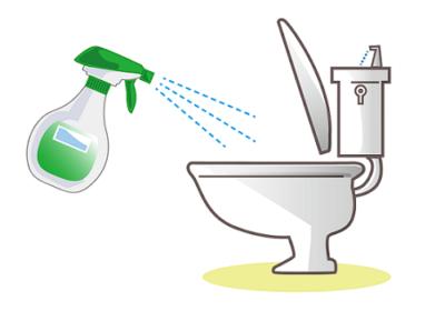 重曹と酢水でトイレの輪じみを取る方法