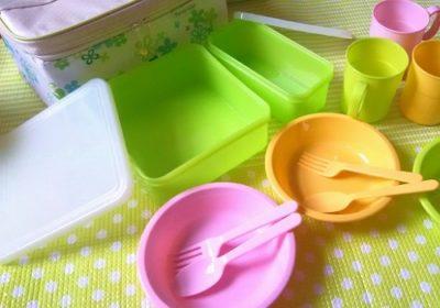 プラスチック容器を洗うときの注意