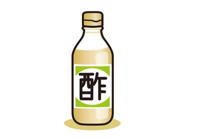 生ゴミの臭いを酢水で予防